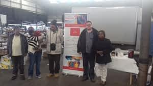 KIRAN Outreach at Sunday Market Cardiff
