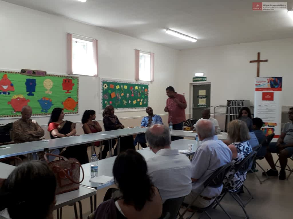 KIRAN Community Dining || 24 August 2019
